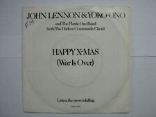 JOHN LENNON 45 TOURS HOLLANDE HAPPY X-MAS 1
