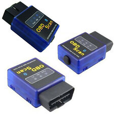 ELM327 V2.1 OBD2 II Bluetooth Diagnostic Car Auto Interface Scanner Tool Blue