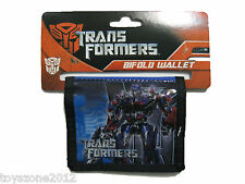 """Transformers Bi-Fold Wallet 4.5"""" x 3.5"""" BRAND NEW WITH TAGS"""