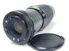 Vintage Vivitar Camera Lens Macro Focusing Zoom 75-250 MM 1:38-4.5 MC Black CCH2