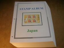 JAPAN STAMP ALBUM PAGES COMPLETE FROM 1871 TO 2014