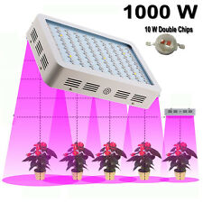 1000W Full Spectrum LED Grow Light Panel Lamp Fr Hydroponic Medical Indoor Plant