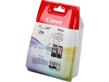 Pg-510 + cl511 Canon mp240 495 ip2700 col2970b010 MULTIPACK Black color OVP