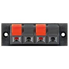 1 Paar Lautsprecher Anschluss - Lautsprecher-Terminal, 4 pol.Klemmleiste 1Paar