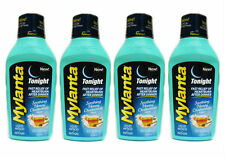 4 PACK Mylanta Antacid Gas Heartburn Tonight Honey Chamomile 12oz 819903010302