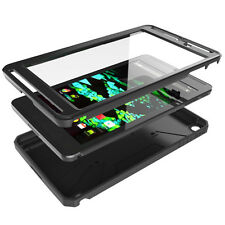 Poetic Revolution Rugged Hybrid Shockproof Case for NVIDIA SHIELD Tablet K-1 BLK