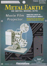 Fascinations Metal Earth 3D Laser Cut Steel Model Kit - Vintage Movie Projector