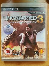 PS3/Playstation 3: Uncharted 3 (3D COMPATIBLE) Original!!!