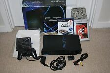 SONY PLAYSTATION 2 PS2 ORIGINAL BOXED CONSOLE BUNDLE JOBLOT GAMES FULL SETUP
