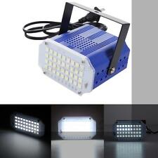 36x LED White Party Flash Lighting Strobe DJ Disco Strobe Mini Stage Light Lamp