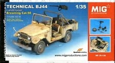 Mig Productions 1:35 Technical BJ44 Land Cruiser Browning Cal.50 - Resin #35139
