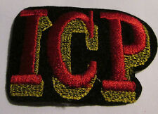 INSANE CLOWN POSSE ICP COLLECTABLE RARE VINTAGE PATCH EMBROIDED1990' METAL LIVE