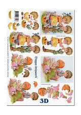 3D Bogen Motivbogen Etappenbogen 3D Bild Verliebte Kinder (104)