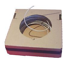 (0,25€/m) 4m Einzelader H05V-U 1 mm² weiß Aderleitung für Leuchten EVGs