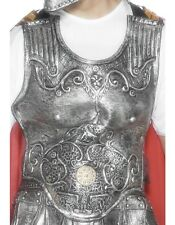 Da Uomo Deluxe LATTICE ROMAN GLADIATOR Costume Armour Breastplate Da Smiffys