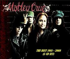 Motley Crue [REMASTERED] - The Best 1981 - 2008 (5 CD Set) Sealed! New!