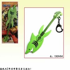 ONE PIECE PORTACHIAVI KEYRING COSPLAY CHITARRA GUITAR BROOK NEW WORLD RUFY ACE