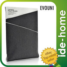 Evouni Twilled Denim Case Pouch for New iPad / iPad 2 - Gray