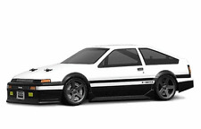 1:18 HPI 7611 Toyota Trueno AE86 Lexan Body / Karosserie clear + decals wb140mm