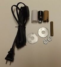 MAKE A MINI LAMP KIT WITH CANDELABRA SOCKET,BLACK CORD SET W/LINE SWITCH 940J