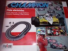 VINTAGE POLISTIL CHAMPION ELECTRIC RACING TRACKS 1/32 / pista elettrica anni 80