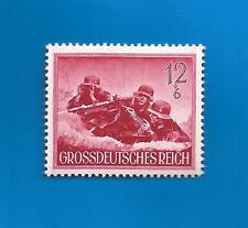 WW2 Nazi Germany Third Reich POST MG34 machine gun crew postage stamp 1944 MNH