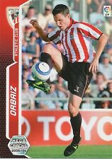 N°027 ORBAIZ # ATHLETIC BILBAO TRADING CARD PANINI MEGACRACKS LIGA 2006