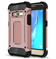For Samsung Galaxy J1 Luna 4G Case Rose gold Rugged Armor Protective Phone Cover