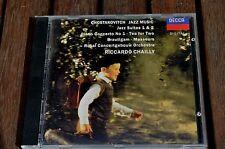 BRAUTIGAM CHAILLY CHOSTAKOVITCH Jazz music  CD DECCA FRANCE 1993 DIGITAL