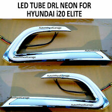 Premium Quality Fog Lamp Cluster LED Tube DRL NEON for Hyundai i20 Elite