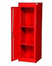 VRS-5600RD 15-Inch Full Locker Red Side Cabinet with 2 Fixed Shelves