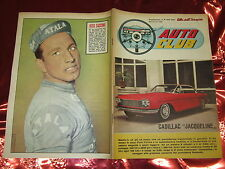 AUTO CLUB SUPPLEMENTO ALBI DELL'INTREPIDO 826 CADILLAC JACQUELINE VITO TACCONE