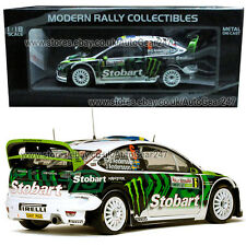 Stobart Ford Focus RS WRC 8 #6 P-G & A Andersson Rally Bulgaria 2010 1:18 Model