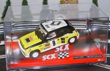 SCX 64850 Renault 5 Maxi Turbo Rally Montecarlo 1981 Scalextric Slot Car 1/32