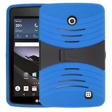 For LG G PAD F 7.0 LK430 Shockproof Armor Hybrid Stand Hard Box Case Cover Blue