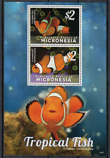 Micronesia 2014 MNH Tropical Fish 2v S/S I Clownfish Marine Amphiprioninae
