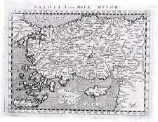 Antique map, Natoli olim Asia Minor