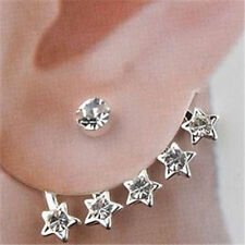 Star Wrap 2PC Pair of Earrings Jewelry Piercing Fashion Post Fun