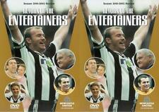 Newcastle United Season Review 2001/2002 DVD Return of the Entertainers! Shearer