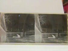 ancien plaque verre stereo photo paris pont de la tournelle ste genevieve n dame