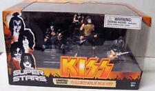 KISS SUPERSTARS LIMITED EDITION COLLECTIBLE CONCERT BOX SET FIGURES MINT NRFB