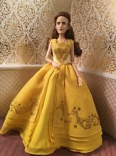 Belle Yellow Beast Disney Classic Doll Barbie Beauty Princess Film Live