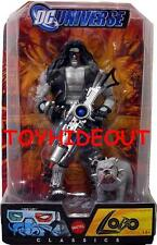 DC UNIVERSE CLASSICS SDCC EXCLUSIVE LOBO W DAWG ACTION FIGURE SET NEW RARE 3D