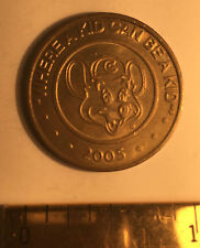 2005 CHUCKY CHEESE WHERE A KID CAN BE A KID TOKEN OR COIN EXONUMIA FREE SHIPPING