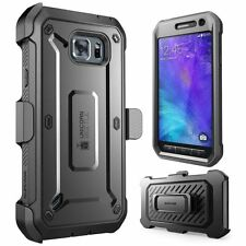 Samsung Galaxy S6 Active Case Rugged Holster Built-in Screen Protector Bumper