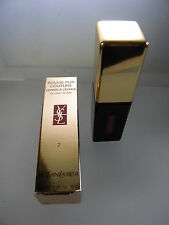 YSL ROUGE PUR COUTURE VERNIS A LEVRES GLOSSY STAIN 7 CORAIL AQUATIQUE