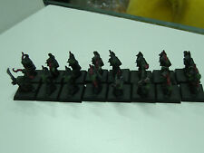 WARHAMMER FANTASY ORCS & GOBLINS NIGHT BOWS COMMAND REGIMENT x16 GAMES WORKSHOP