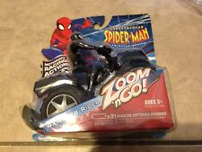 Spider-man Zoom N Go 4x4 Black Web Rider Motorized Racing New Factory Sealed