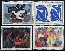 FRANCE 1961 French Art Paintings set of 4 vf MINT MNH  SG 1551 - 1554