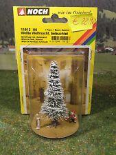 NOCH 11912 H0 Weiße Weihnacht Christbaum beleuchtet mit Figuren